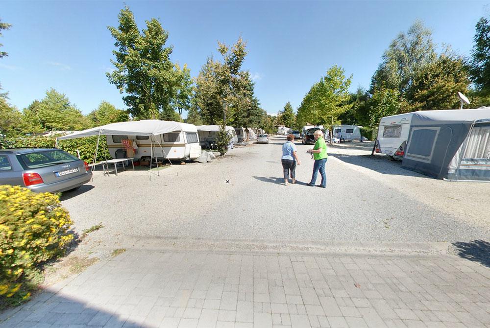 Auf dem Camping Arterhof in Bad Birnbach finden Sie moderne Sanitärräume mit eigenem Mietbad