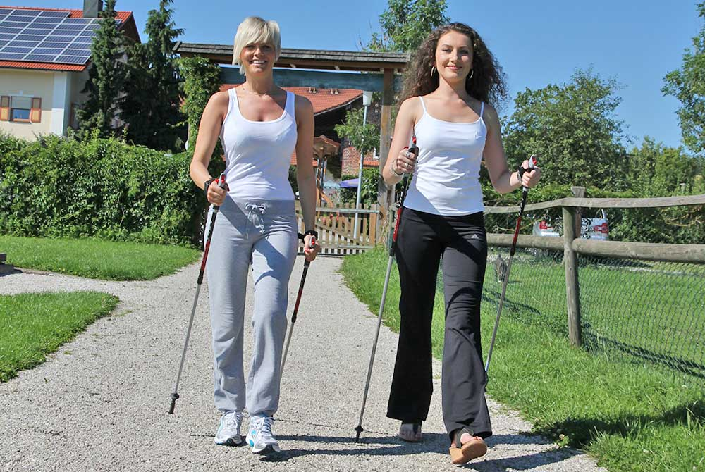 Nordic Walking am Arterhof in Bad Birnbach