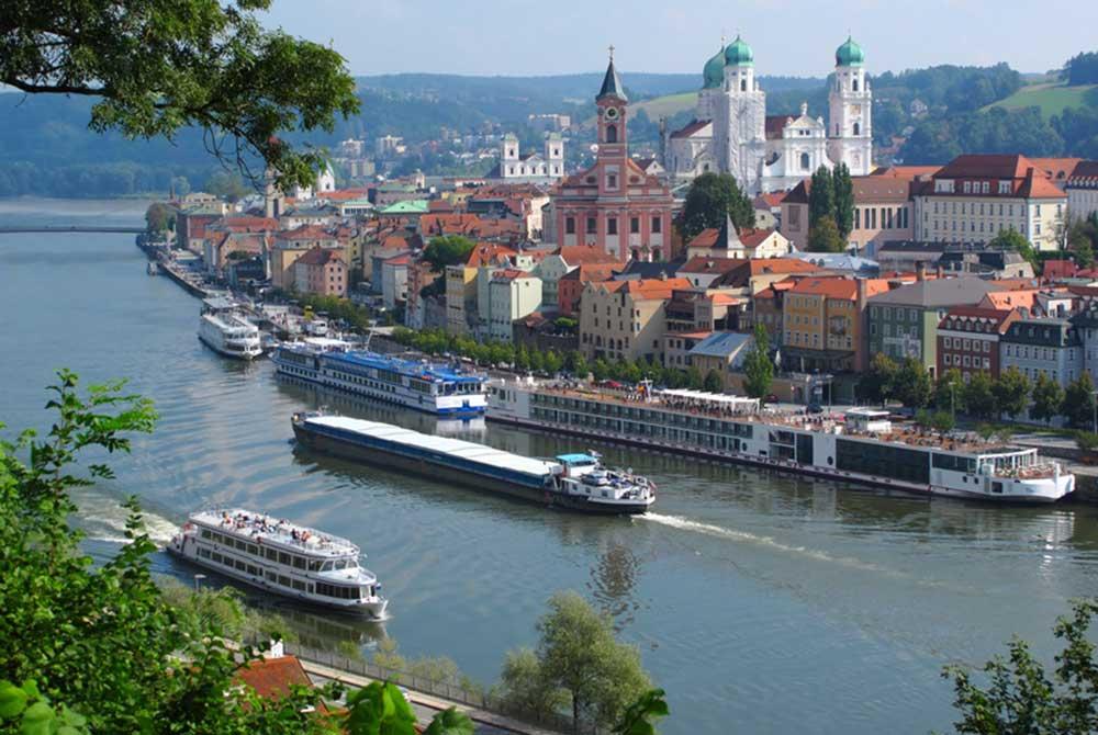 Passau ist ein ideales Ausflugsziel von Bad Birnbach aus