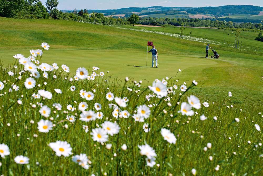 18-Loch-Turnierplatz auf dem Bella Vista Golfpark in Bad Birnbach