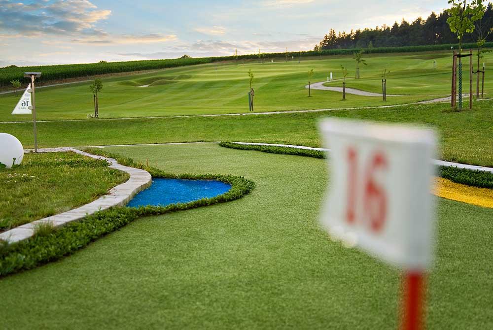 Spiel!Golf-Anlage auf dem Bella Vista Golfpark in Bad Birnbach