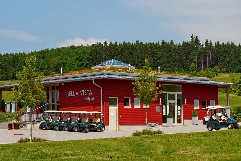 Treffpunkt am Bella Vista Golfpark in Bad Birnbach