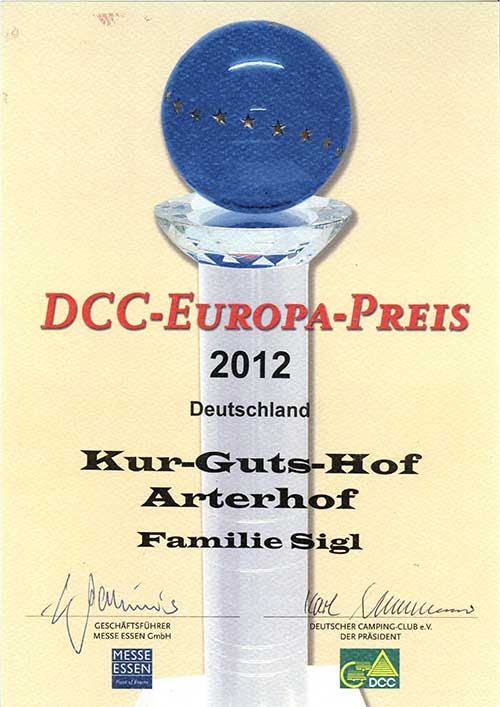 DDC Europa-Preis 2012