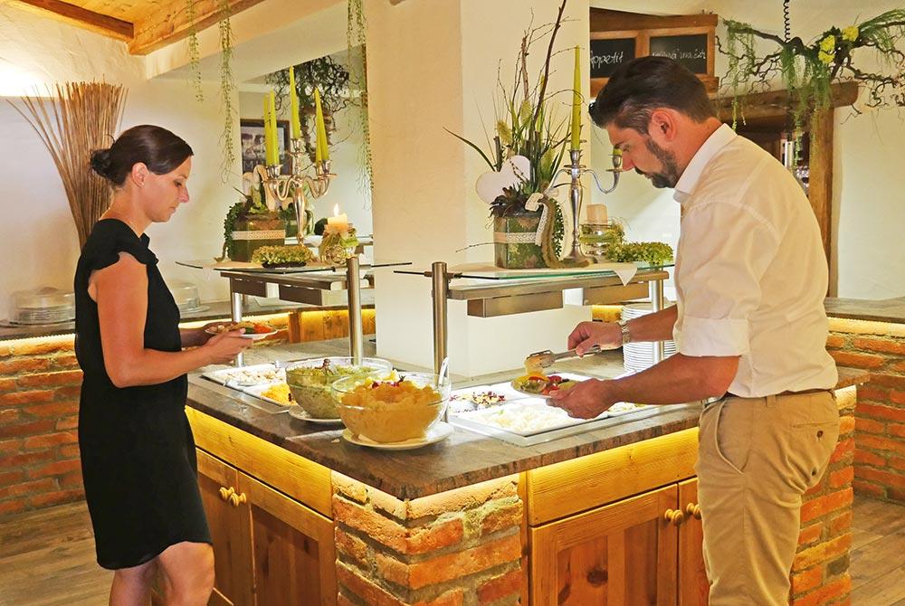 Abendessen in Bad Birnbach auf dem Arterhof