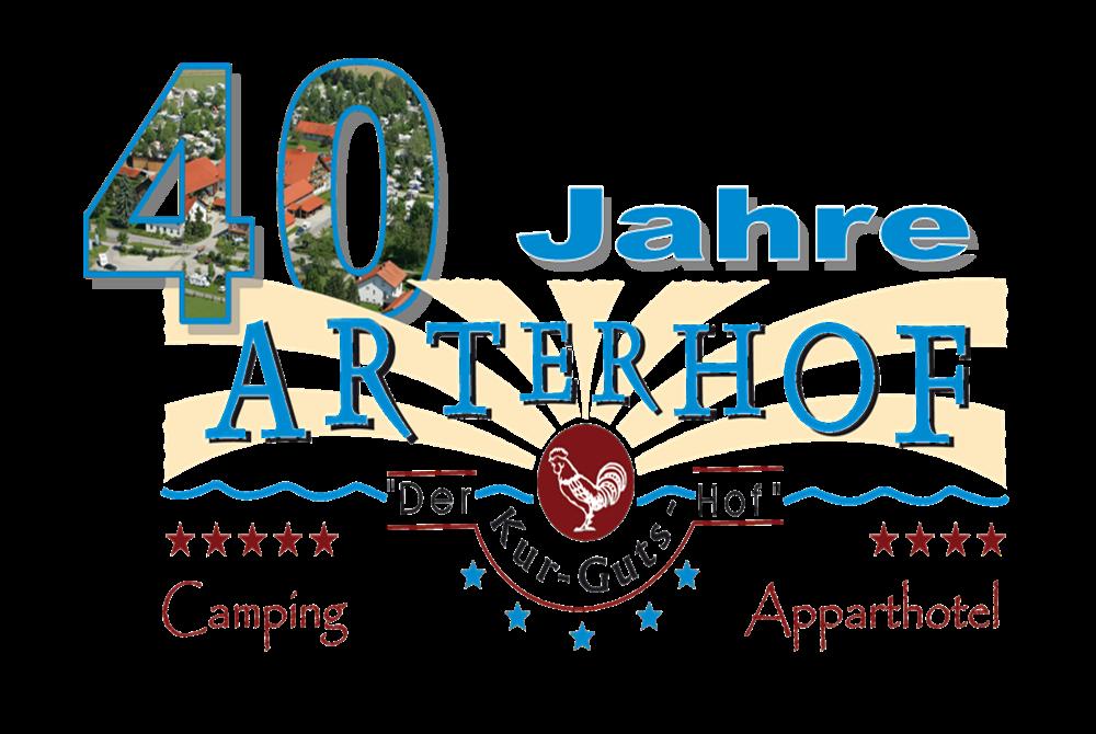 Jubiläumslogo 40 Jahre Arterhof Bad Birnbach