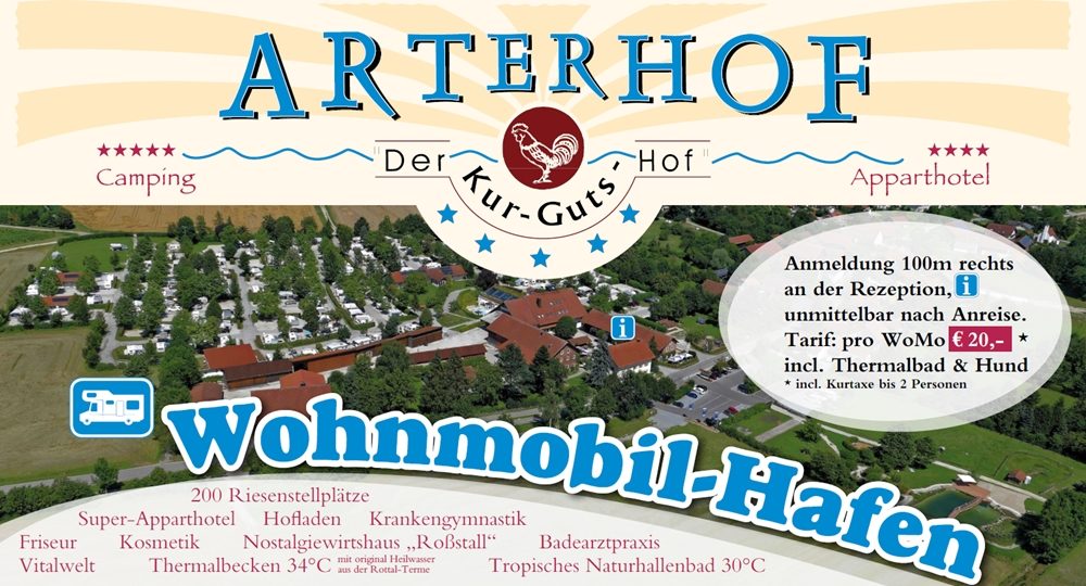 Wohnmobilhafen Arterhof Bad Birnbach