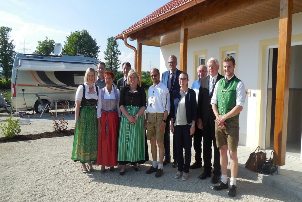 Einweihung Gutshofstellplätze Arterhof Bad Birnbach Camping