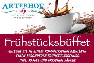 Frühstücksbüffet am Arterhof in Bad Birnbach