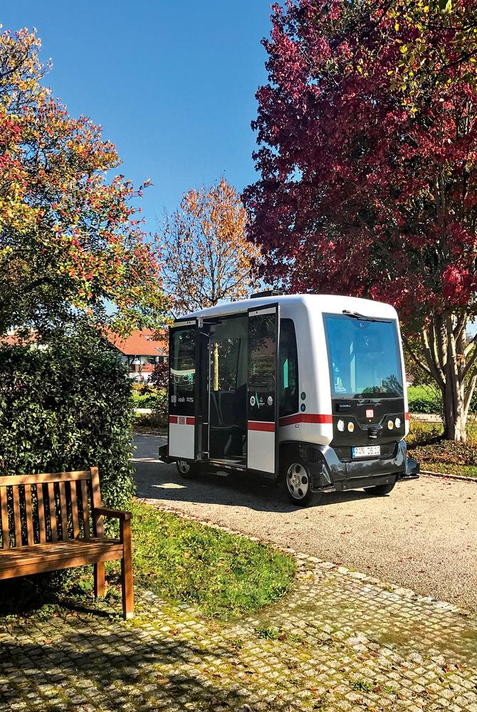Autonomer Bus Bad Birnbach