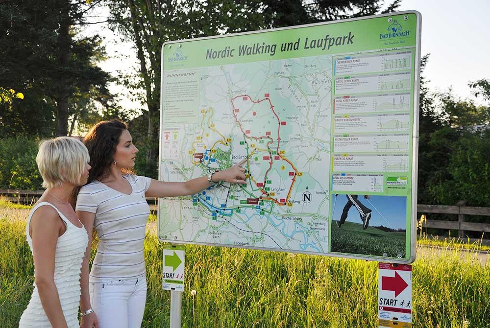 Nordic-Walking- und Laufpark in Bad Birnbach am Arterhof