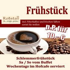 Frühstück auf dem Arterhof für nur 10 Euro pro Person.