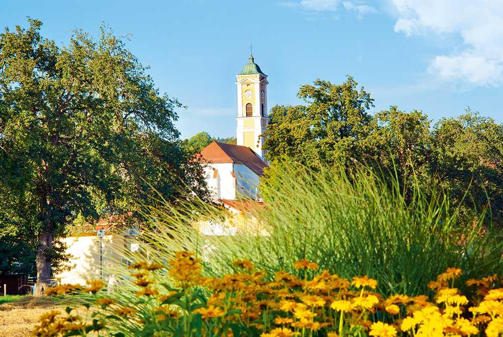 Bad Birnbach im Spätsommer
