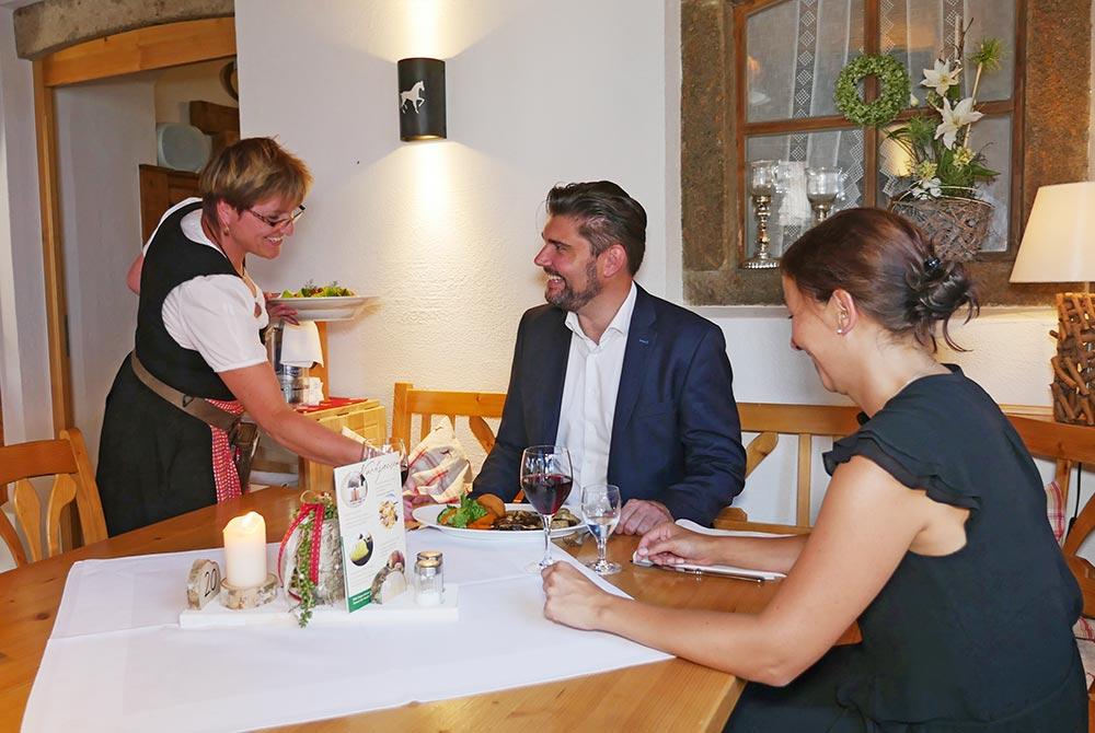 Schön Essengehen in Bad Birnbach auf dem Arterhof