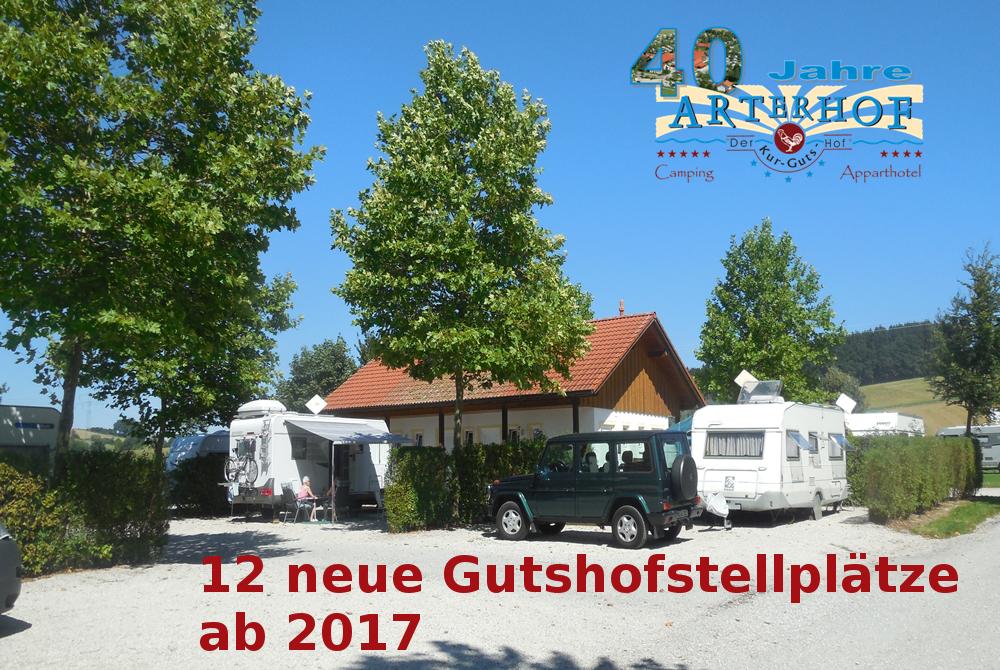 gutshofstellplatz ab 2017 am Arterhof in Bad Birnbach
