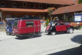 2 CV Ententreffen am Arterhof in Bad Birnbach