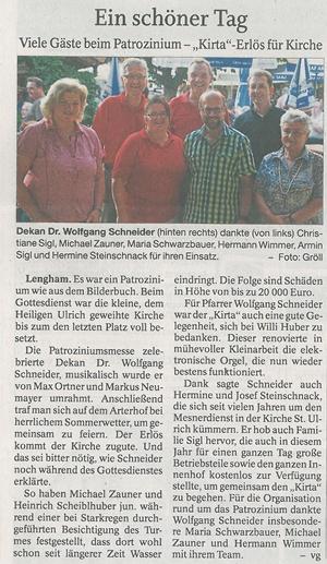 Lenghamer Kirta Arterhof Gutshof Camping Bad Birnbach