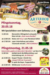 Pfingstfest Arterhof Bad Birnbach Thermenland