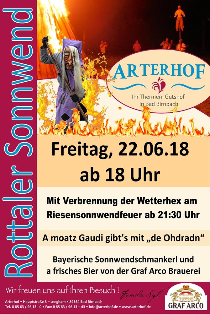 Sonnwend am Arterhof in Bad Birnbach