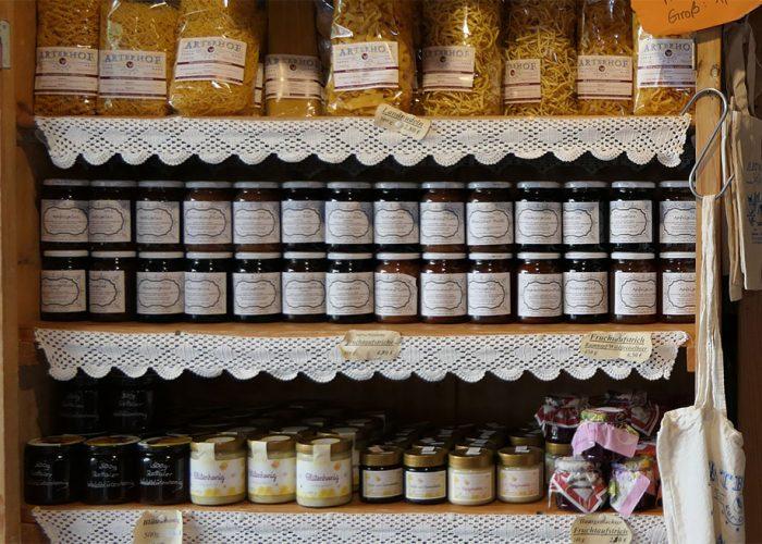 Hofladen-Marmelade