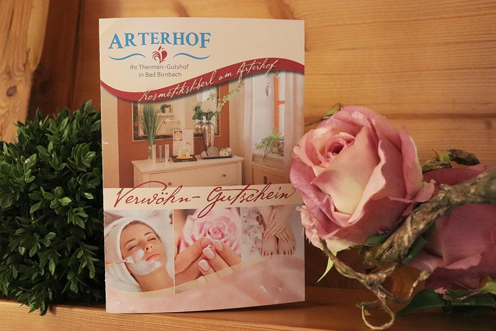 Kosmetik-Gutschein für den Arterhof